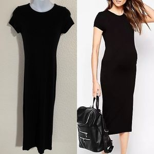 ASOS Maternity simple black dress size 4
